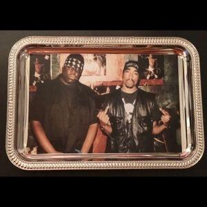 biggie an tupac tray an ashtray set